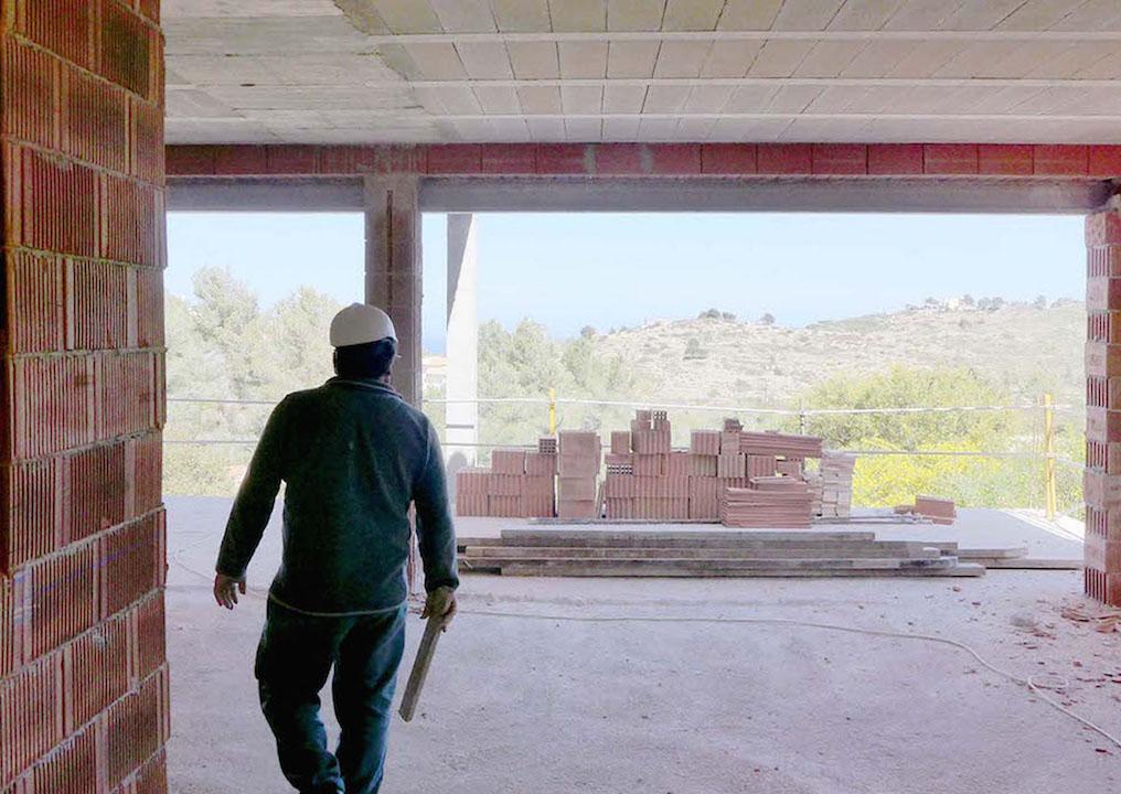 Construcción de vivienda POM, en Denia
