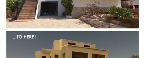 Reforma de una vivienda en Javea
